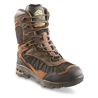 "Wood 'N' Stream Men's 8"" Maniac Waterproof Insulated Hunting Boots, 400 Gram, Crazyhorse"