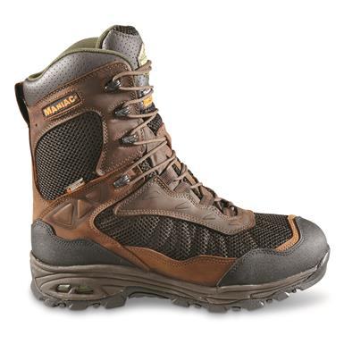 Wood 'N' Stream Men's Maniac Insulated Waterproof Hunting Boots, 400 Gram, Crazyhorse