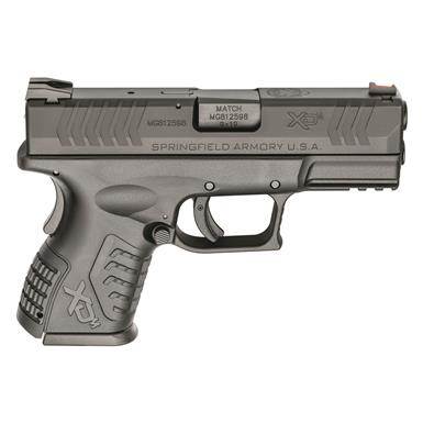 "Springfield XD(M) 3.8"" Compact, Semi-Automatic, 9mm, 3.8"" Barrel, 19+1 Rounds"