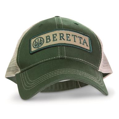 Beretta® Patch Trucker Hat, Green