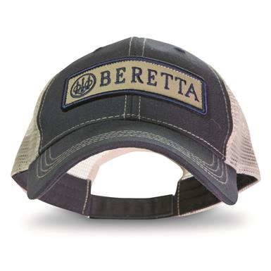 Beretta Men's Patch Trucker Hat, Navy