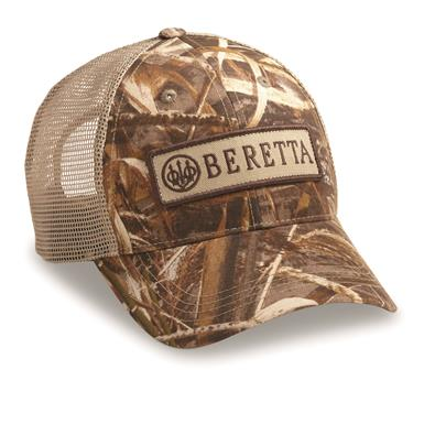 Beretta Men's Patch Trucker Hat, Realtree MAX-5¿¿