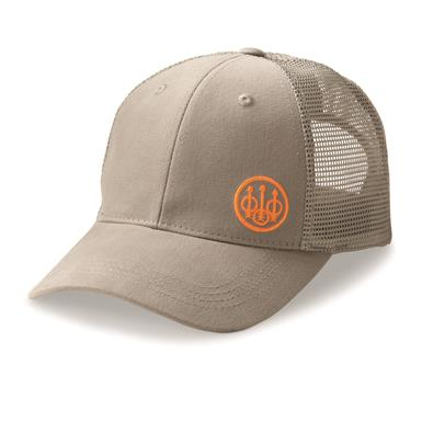 Beretta Men's Trident Trucker Hat, Gray