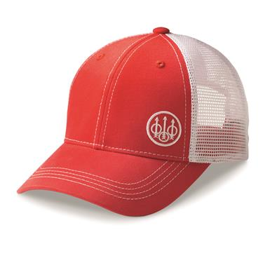Beretta Men's Trident Trucker Hat, Mars Red