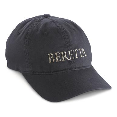 Beretta Men's Cotton Twill Hat, Navy/Gray