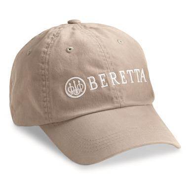 Beretta Men's Cotton Twill Hat, Gray