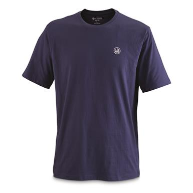 Beretta T-Shirt, USA Logo, Navy