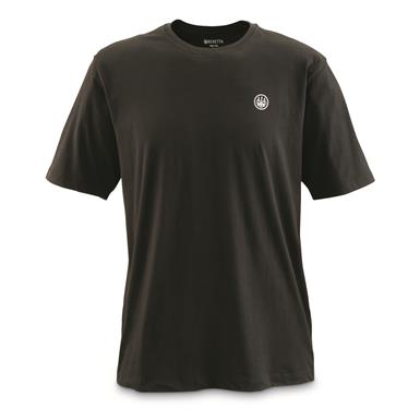 Beretta T-Shirt, USA Logo, Black