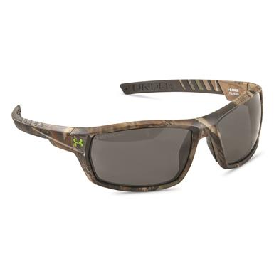 Under Armour Men's Ranger Storm Polarized Sunglasses, Realtree