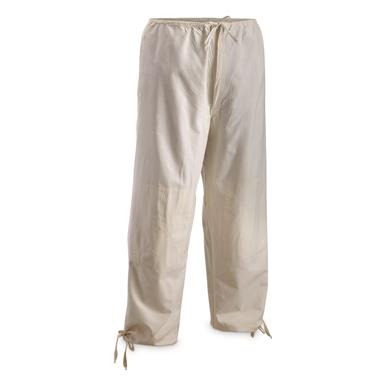 Czech Military Surplus Over Pants, 3 Pack, Used, White