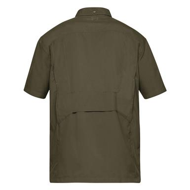 Back view, Military Olive Drab Green