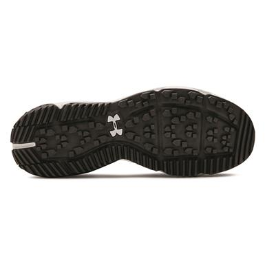 High-traction lugged rubber outsole for traction across multiple terrains, Jet Gray/Surface Gray/Surface Gray