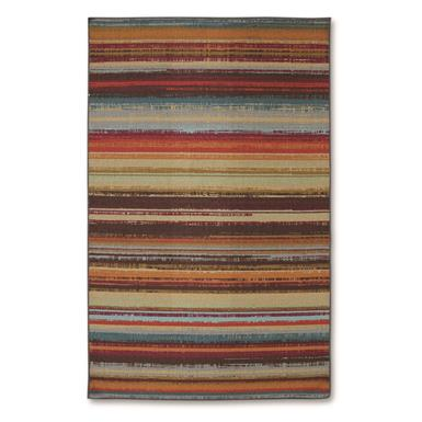 Mohawk Avenue Stripe Indoor/Outdoor Rug, Multi