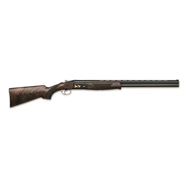 "FAIR SLX600 Black, Over/Under, 12 Gauge, 28"" Barrels, European Walnut Stock, 2 Rounds"