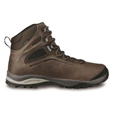 Waterproof uppers, membrane, Dark Earth/slate Brown