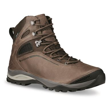 Vasque Men's Canyonlands UltraDry Mid Waterproof Hiking Boots, Dark Earth/slate Brown