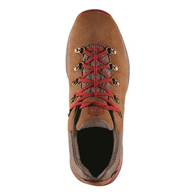 Top view, Brown/red