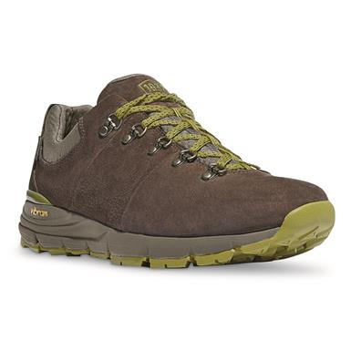 Danner® Mountain 600 Low, Dark Brown/lichen