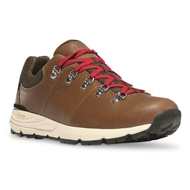 Danner Men's Mountain 600 Low Waterproof Hiking Shoes, Full Grain Leather, Saddle Tan