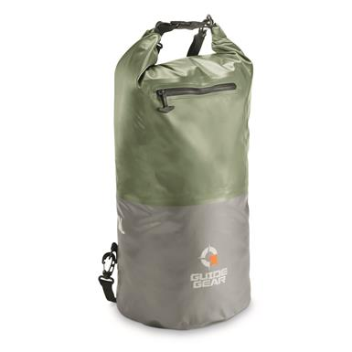 Guide Gear Dry Bag, Olive Drab Green