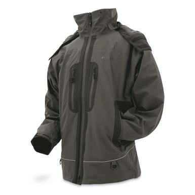 frogg toggs Men's Pilot PRO Waterproof Jacket, Charcoal Gray