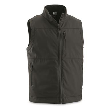 HQ ISSUE Soft Shell Concealment Vest, Black