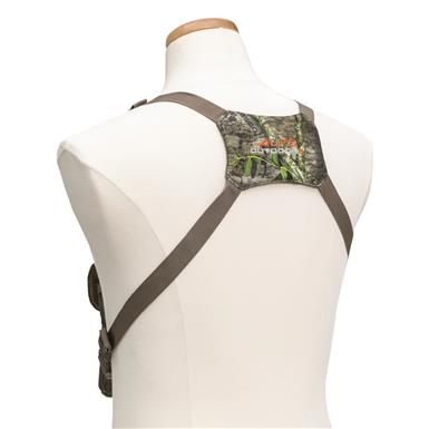 Adjustable harness fits nearly all body sizes, Mossy Oak Obsession®