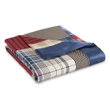 Shavel All Season's Blanket, Limited Edition Colors, Berry Patch Plaid
