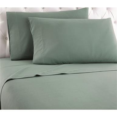 Shavel Micro Flannel Sheet Set, Limited Edition Colors, Spruce