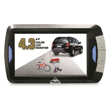 "Peak Digital Wireless Back-Up Camera with 4.3"" LCD Color Monitor"