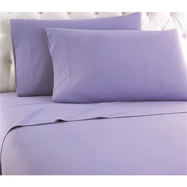 Shavel Micro Flannel Sheet Set, Amethyst