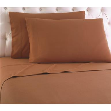 Shavel Micro Flannel Sheet Set, Spice
