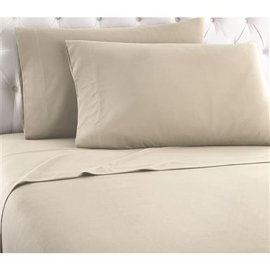 Shavel Micro Flannel Sheet Set, Taupe