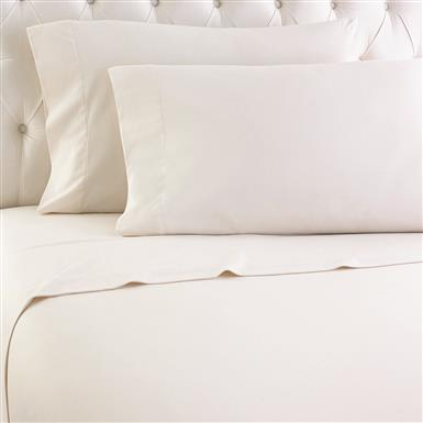 Shavel Micro Flannel Sheet Set, Ivory