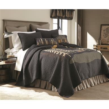 Donna Sharp Moonlit Cabin Quilt Set