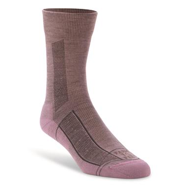 Farm To Feet Women's Greensboro Lightweight Sport 3/4 Crew Socks, Lavendula
