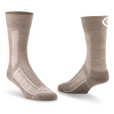 Farm To Feet Women's Greensboro Lightweight Sport 3/4 Crew Socks, Silver Heather