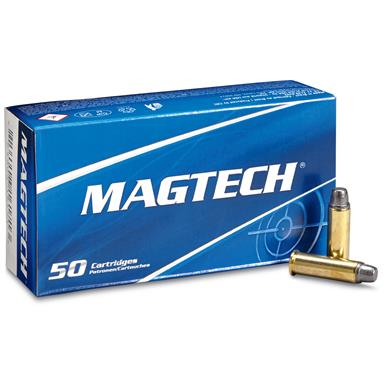 Magtech, .38 Special, LSWC, 158 Grain, 50 Rounds