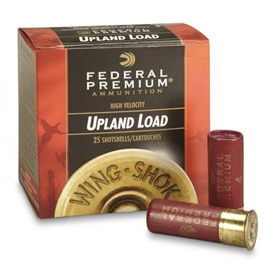 "Federal, Pheasants Forever, 12 Gauge, 2 3/4"" 1 1/4 oz. Shotshells, 25 Rounds"