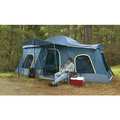 Academy Broadway® 20 x 10u0027 4-room Cabin Dome - 80506 Backpacking Tents at Sportsmanu0027s Guide  sc 1 st  Sportsmanu0027s Guide & Academy Broadway® 20 x 10u0027 4-room Cabin Dome - 80506 Backpacking ...