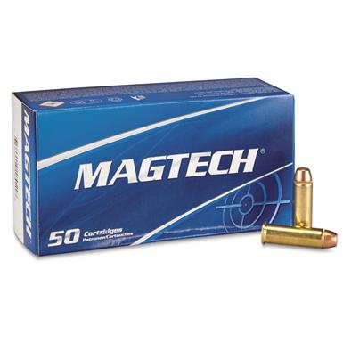Magtech, .38 Special, FMJ, 125 Grain, 50 Rounds