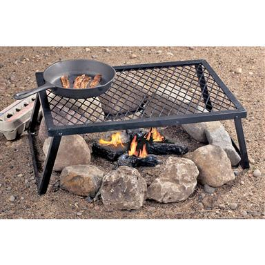 Heavy-duty Camp Grill