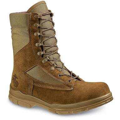 Bates Men's DuraShocks USMC-Spec Lightweight Combat Boots, Tan