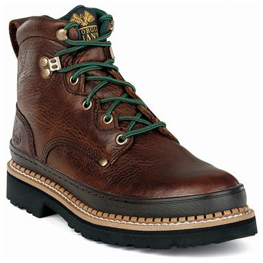 "Giant 6"" Boot, Brown"