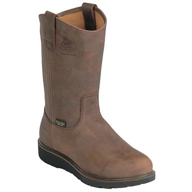 Men's Georgia Boot SPR Comfort Core Wellington, Tan