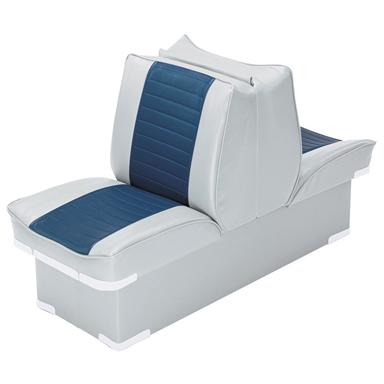 Wise Boat Lounge Seat, Grey / Navy