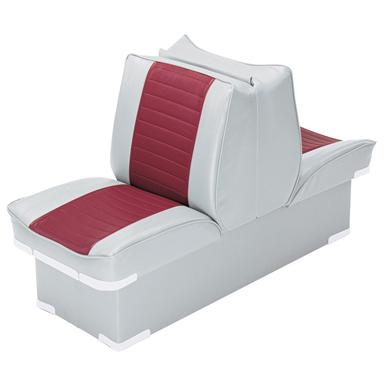 Wise Boat Lounge Seat, Grey / Red