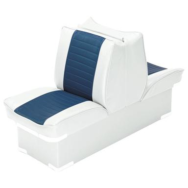 Wise Boat Lounge Seat, White / Navy