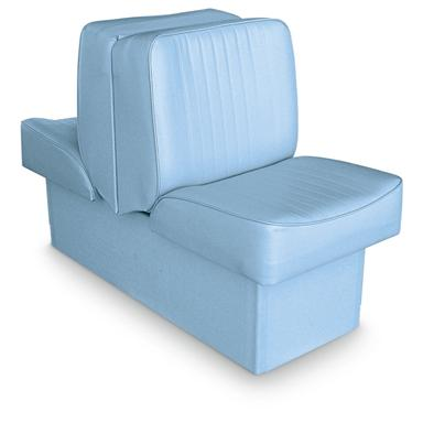 Wise Deluxe Boat Lounge Seat, Light Blue