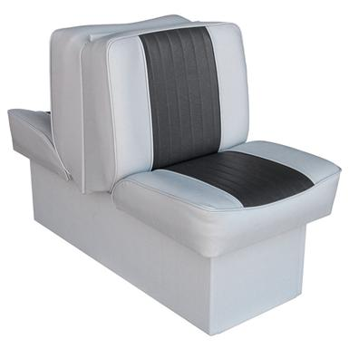 Wise Deluxe Boat Lounge Seat, Grey / Charcoal